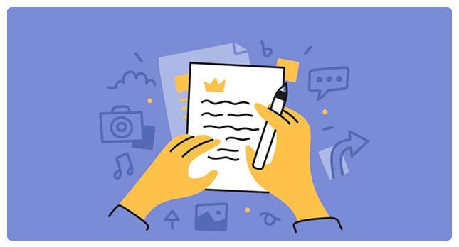 نکات کلیدی برای نوشتن محتوای سئو شده در وب سایت